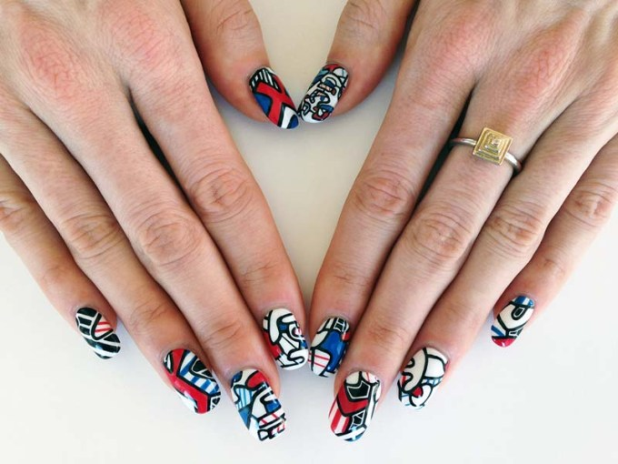 Nail Art, Art History, Jean Dubuffet, Susi Kenna