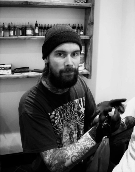 Blackfriars Tattoos Owner, Jon Tagart, Hereford England