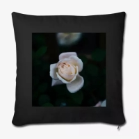 white rose cushion