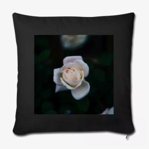 white rose cushion